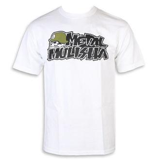 Muška ulična majica - IKON WHT - METAL MULISHA, METAL MULISHA