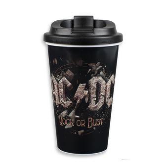 Šalica AC / DC - to Go - FBI., F.B.I., AC-DC