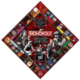 Društvena igra AC / DC - Monopoly, NNM, AC-DC