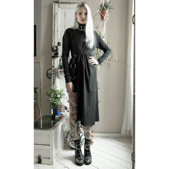 Ženska haljina DISTURBIA - Asymmetric Drape, DISTURBIA