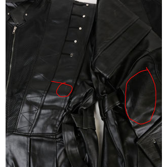 Muški kaput (2. klasa) ZOELIBAT - Crni, ZOELIBAT
