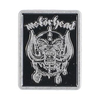 Bedž Motörhead - Logo & Warpig - RAZAMATAZ, RAZAMATAZ, Motörhead