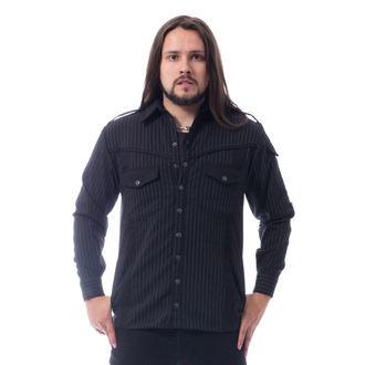 Muška košulja Vixxsin - LESS - BLACK PINSTRIPE, VIXXSIN