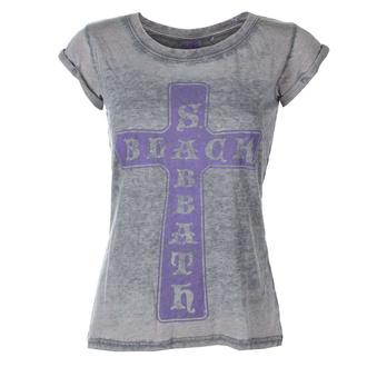 Ženska metal majica Black Sabbath - Vintage Cross - ROCK OFF, ROCK OFF, Black Sabbath