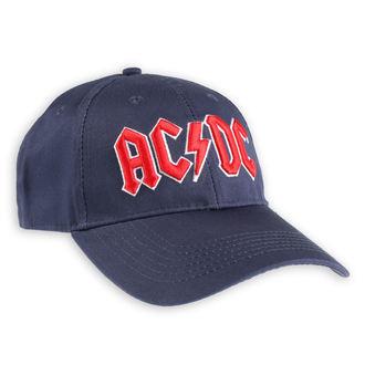 Kapa AC / DC - Red Logo Navy - ROCK OFF, ROCK OFF, AC-DC