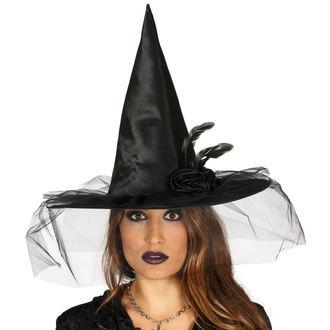 Šešir za Noć vještica BLACK WITCH FLOWER