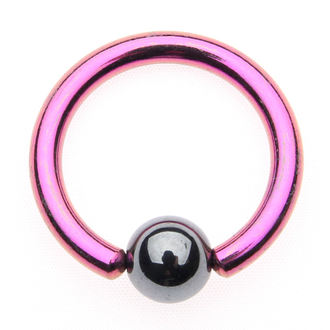 Piercing nakit - Metallic Purple - 5mm