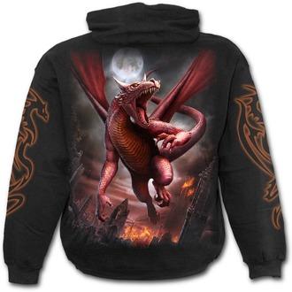 Muška majica s kapuljačom - AWAKE THE DRAGON - SPIRAL, SPIRAL