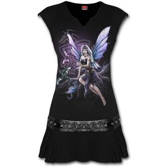 Ženska haljina SPIRAL - DRAGON KEEPER - Crna, SPIRAL
