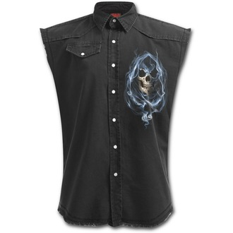 Muška košulja bez rukava SPIRAL - GHOST REAPER - Crna, SPIRAL