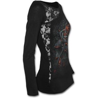 Ženska majica - BURNT ROSE - SPIRAL, SPIRAL