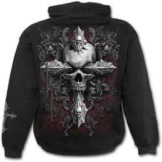 Majica s kapuljačom muška - CROSS OF DARKNESS - SPIRAL, SPIRAL