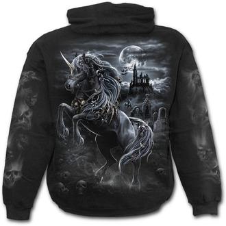 Majica s kapuljačom muška - DARK UNICORN - SPIRAL, SPIRAL