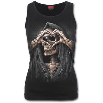 Ženska majica SPIRAL - DARK LOVE - Black, SPIRAL