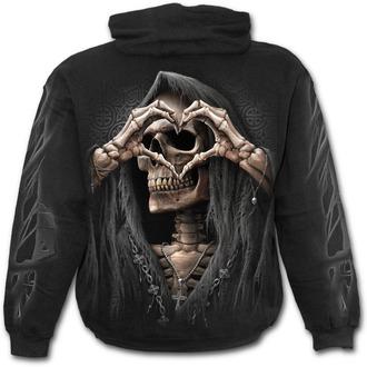 Majica s kapuljačom muška - DARK LOVE - SPIRAL, SPIRAL