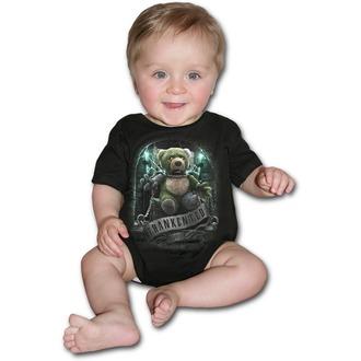 Dječji bodi SPIRAL - FRANKENTED - Black, SPIRAL