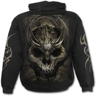 Muška majica s kapuljačom - DRACO SKULL - SPIRAL, SPIRAL