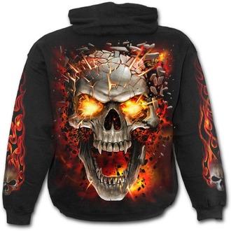 Muška majica s kapuljačom - SKULL BLAST - SPIRAL, SPIRAL