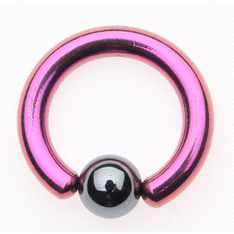 Piercing nakit - Metallic Purple - 6mm