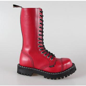 Čizme STEEL -15 pinhole crvena šarena (135/136 Puna Crvena), STEEL