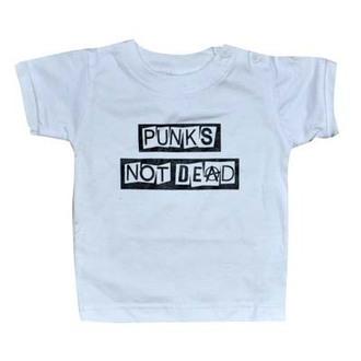 Majica djeca ROCK TATA - Punk-a Ne Mrtav - Bijelo - 16007-008, ROCK DADDY