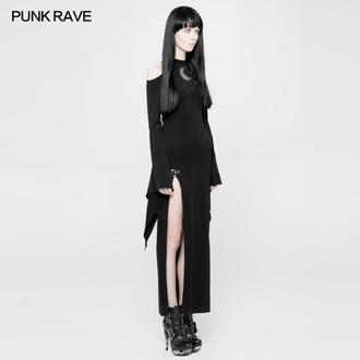 Ženska haljina PUNK RAVE - Lunaria long Gothic, PUNK RAVE