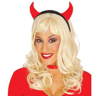 Halloween traka za kosu RED Vražica, NNM