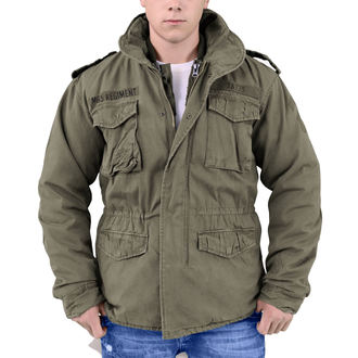 jakna muška SURPLUS - Puk M65 - MASLINA, SURPLUS