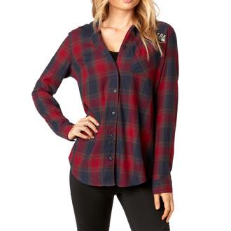 Ženska košulja FOX - Deny - Tamno crvena, FOX