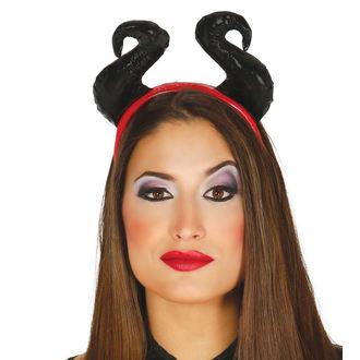 Halloween traka za kosu BLACK ROGOVI, NNM