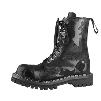 boty STEADY´S - 10 dírkové - Black camo, STEADY´S