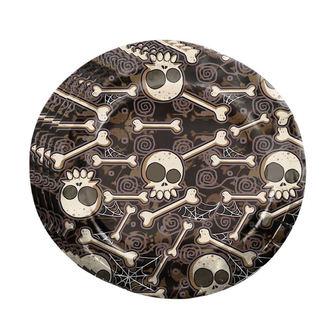 Papirnati tanjuri Halloween KOST