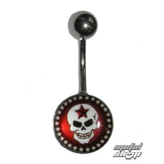 Piercing nakit Skull - 1PCS - L 090