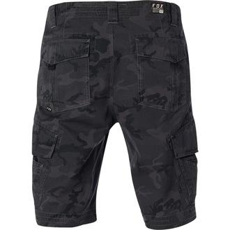 Muške kratke hlače FOX - Slambozo Camo Cargo - Maskirna crna, FOX