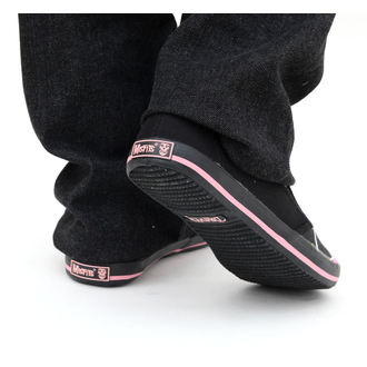Cipele ženske DRAVEN - Misfits - Fiend Argyle Slip on - MCMF 011, DRAVEN, Misfits