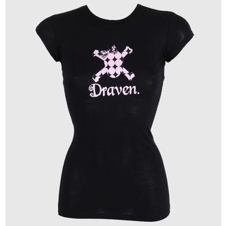 Majica ženska DRAVEN - Polkaskull, DRAVEN