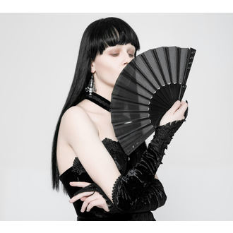 Lepeza PUNK RAVE - Deviless spiked fan, PUNK RAVE