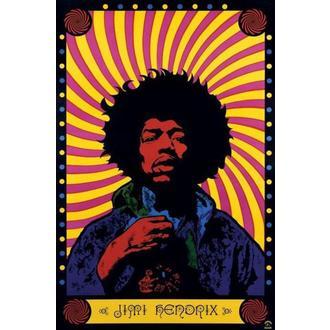 plakat Jimi Hendrix (Psihodeličan) - PP30356, PYRAMID POSTERS, Jimi Hendrix