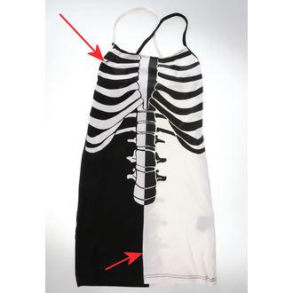 Ženska haljina Heartless - FRACTURE - CRNA/BIJELA - OŠTEĆENO, HEARTLESS