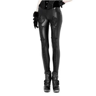 Ženske hlače (tajice) PUNK RAVE - Black Soiree Gothic, PUNK RAVE