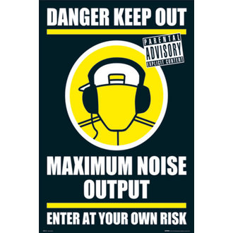 plakat - DANGER KEEP OUT II - GN0139, GB posters