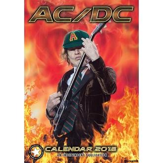 Kalendar za 2018 godinu AC / DC, AC-DC