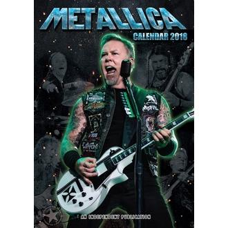 Kalendar za 2018 godinu METALLICA, Metallica