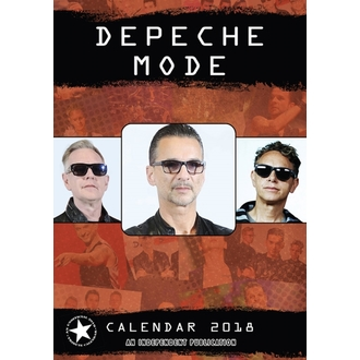 Kalendar za 2018 godinu DEPECHE MODE, Depeche Mode