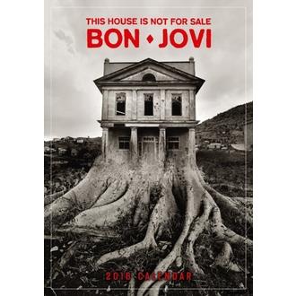 Zidni kalendar 2018 BON JOVI, Bon Jovi