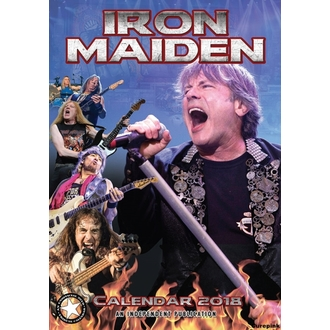 Kalendar za 2018 godinu IRON MAIDEN, Iron Maiden