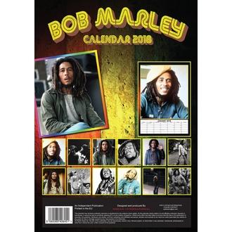 Kalendar za 2018 godinu BOB MARLEY, Bob Marley