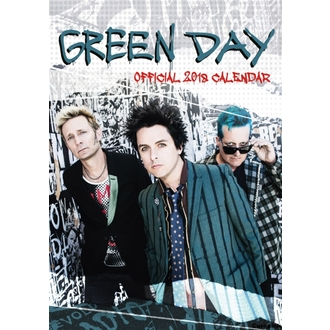 Zidni kalendar 2018 GREEN DAY, NNM, Green Day