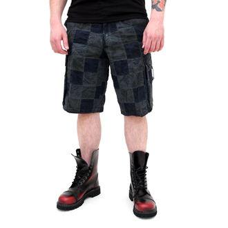 kratke hlače muške SURPLUS - Checkboard - PLAVA, SURPLUS