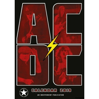 Kalendar za za godinu 2019 - AC / DC, NNM, AC-DC